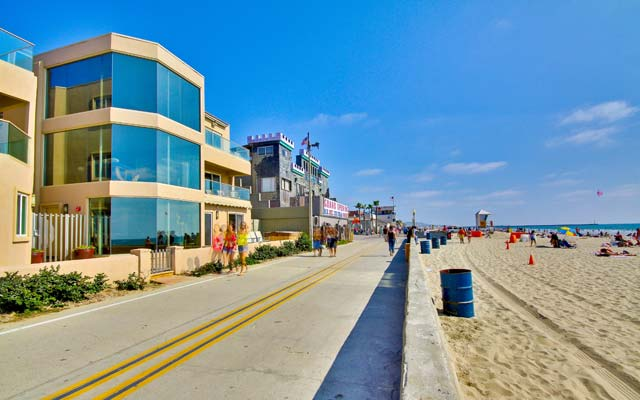 Exceptional value on San Diego Ocean Front & Ocean Close Rentals in Mission Beach San Diego!